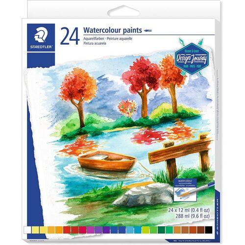 Staedtler Aquarellfarben, 24 Farben