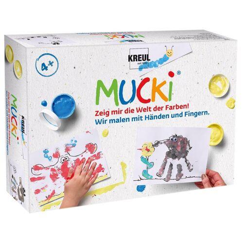 """Kreul MUCKI Set """"Wir malen mit Händen und Fingern"""""""