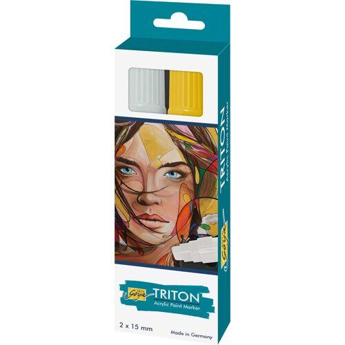 "Kreul Acrylfarbstifte-Set ""Triton Acrylic Paint Marker 1.5 Si/G"""