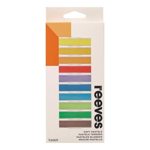 reeves Soft Pastellkreide, 12 Stifte