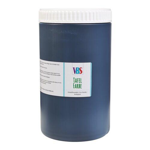 """VBS XXL Tafelfarbe """"Seidenmatt"""" Schwarz"""