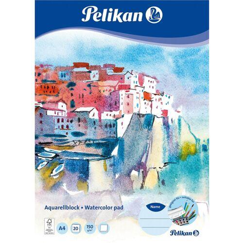 Pelikan Aquarellblock, A4, 20 Blatt