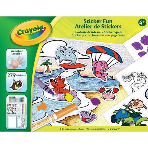 Crayola® Sticker-Spaß
