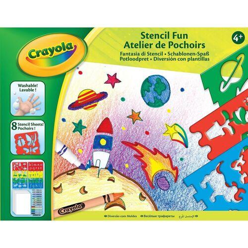 Crayola® Schablonen-Spaß