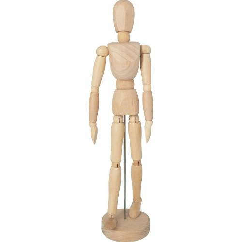 C. KREUL SOLO GOYA Modellpupe aus Holz, 31 cm