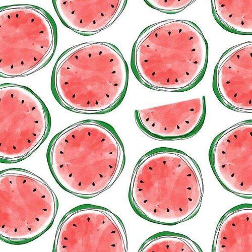 Serviette 'Wassermelone'