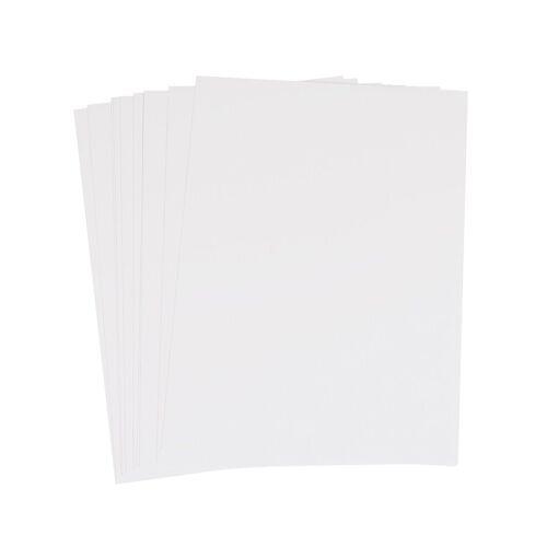 Encaustic Malkarten weiß