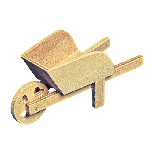 Holzschubkarre, 12 cm