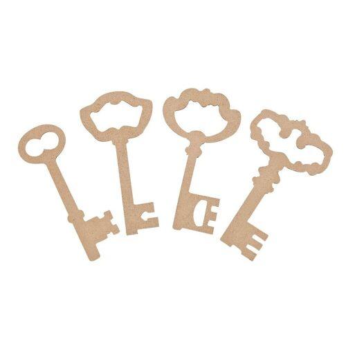 Schlüssel, 4er-Set