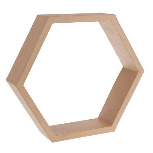Papp-Rahmen 'Sechseck'