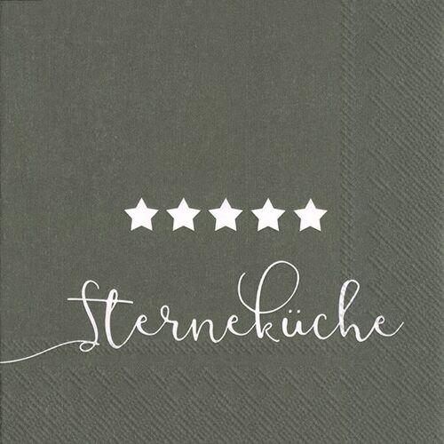 Serviette 'Sterneküche'