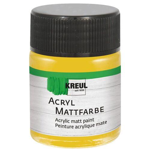 Kreul 50 ml Acrylfarbe Matt Künstlerfarbe, Gold