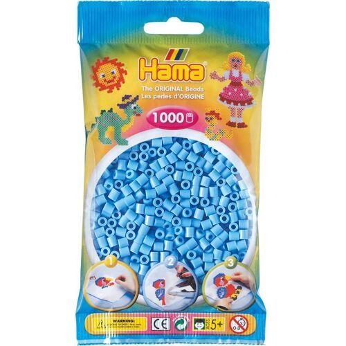 """Hama Perlen Bügelperlen """"Beads"""" 1000 Stück, Pastell-Blau"""