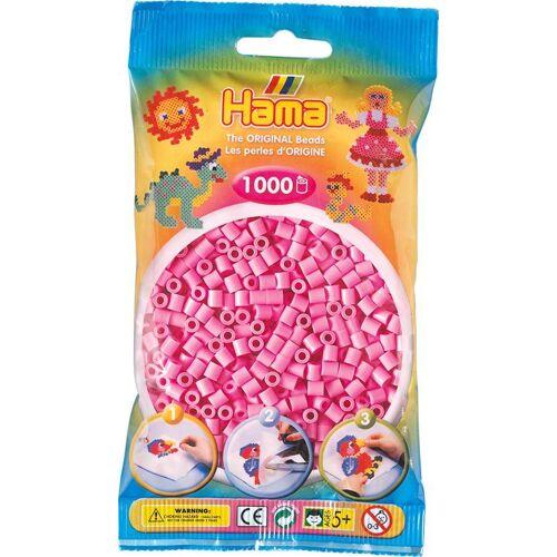 """Hama Perlen Bügelperlen """"Beads"""" 1000 Stück, Pastell-Pink"""