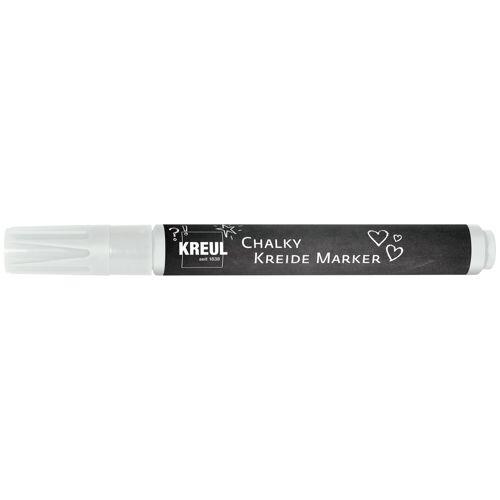 "Kreul Kreidestift ""Chalky Kreide Marker"" ca. 2-3mm Strichstärke, Cozy Red"