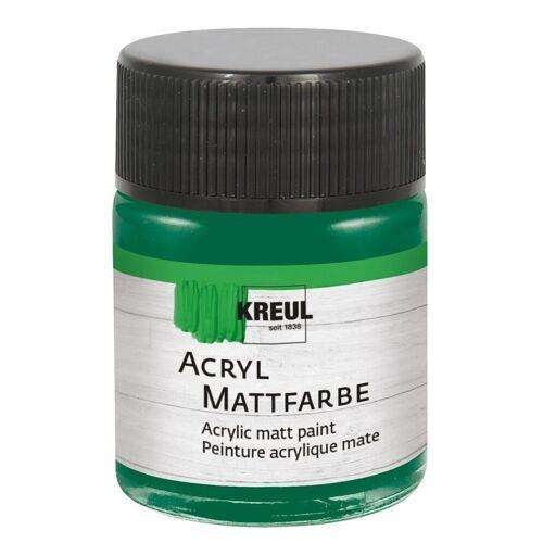"""Kreul Acrylfarbe """" Mattfarbe"""" 50 ml, Grün"""