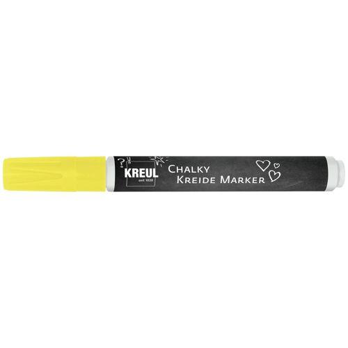 "Kreul Kreidestift ""Chalky Kreide Marker"" ca. 2-3mm Strichstärke, Neon-Light"