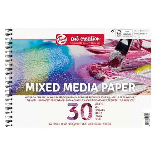 """Talens Aquarellpapier-Block """"Mixed Media Paper"""" 30 Blatt"""
