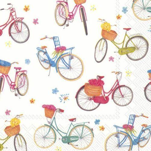 "Serviette ""Fahrradtour"""