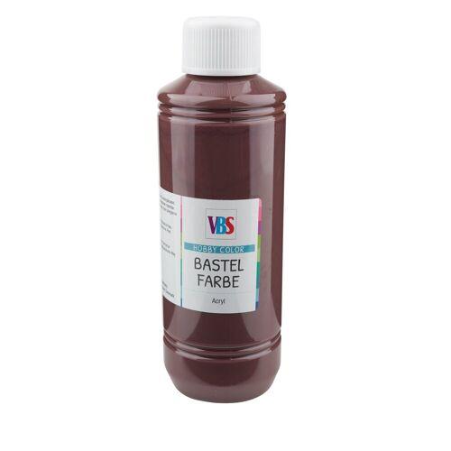 VBS Bastelfarbe, 250 ml, Bastelfarbe, 250 ml, Braun
