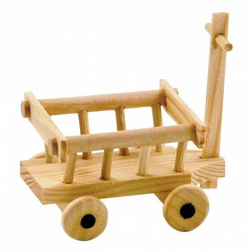 Holz-Leiterwagen