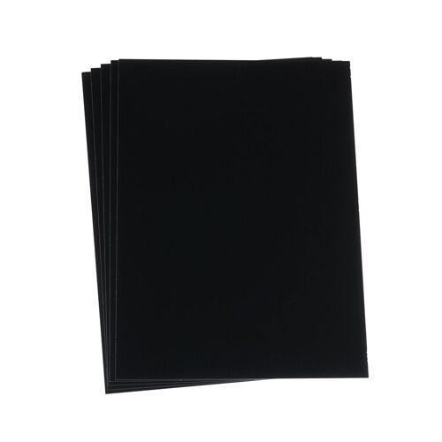 URSUS Enkaustik Malkarten schwarz
