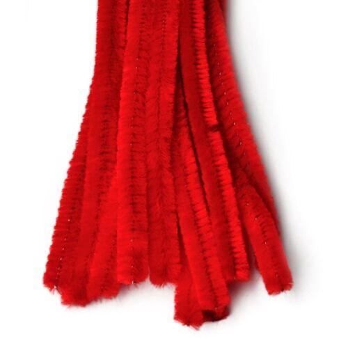 VBS Chenilledraht, 10 Stück, Rot