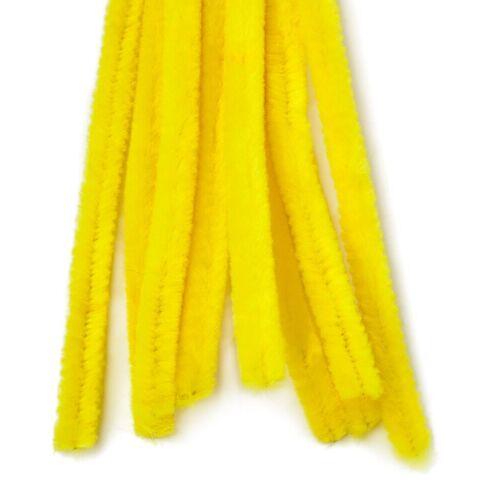 VBS Chenilledraht, 10 Stück, Gelb