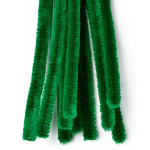 VBS Chenilledraht, 10 Stück, Grün