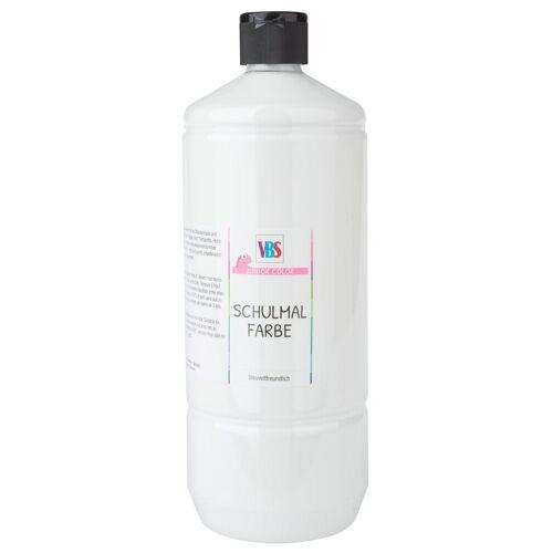 VBS Schulmalfarbe 1 L, Weiß