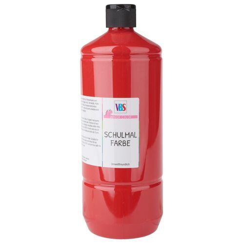 VBS Schulmalfarbe 1 L, Rot