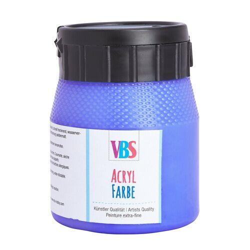 VBS Acrylfarbe, 250 ml, Ultramarin