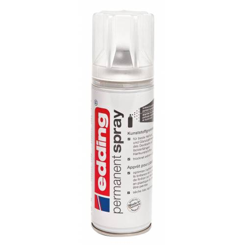 EDDING permanent spray, Grundierung, Kunststoff