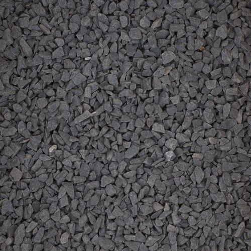 Natursteine 1 Kg Dekosteine, Schwarz