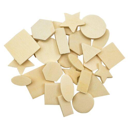 Playbox Holzfiguren Mix, 500 Stück