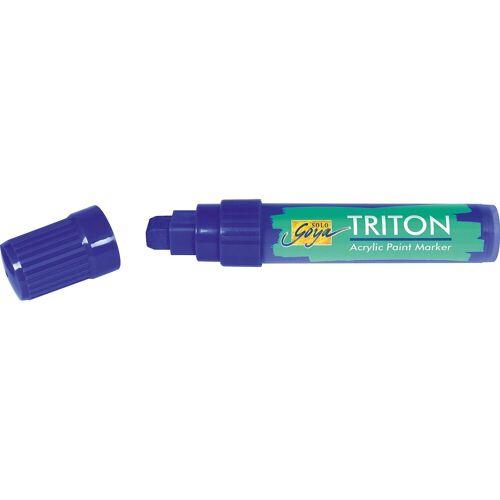 C. KREUL Triton Paint Marker Ultramarinblau 15 mm