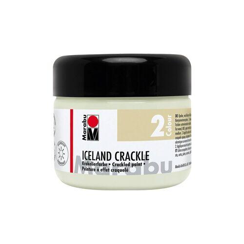 Marabu Iceland Crackle Krakelierfarbe, Mistel 225 ml