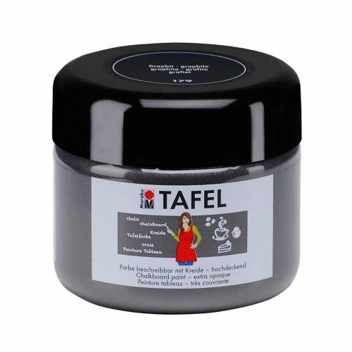 Marabu Tafelfarbe graphit 225 ml