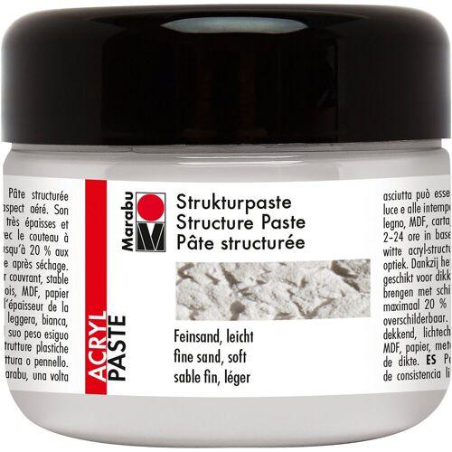Marabu Strukturpaste leicht weiß, 225 ml