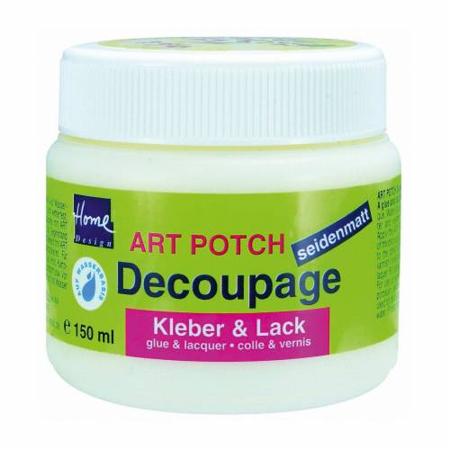 C. KREUL Art Potch Decoupage seidenmatt 150 ml Dose