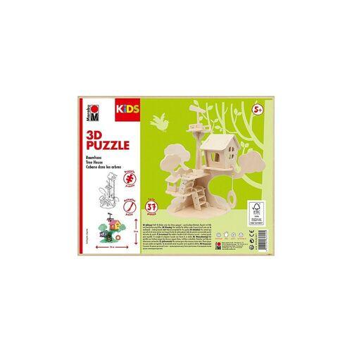 Marabu Holzbaukasten »KIDS 3D Puzzle Baumhaus«