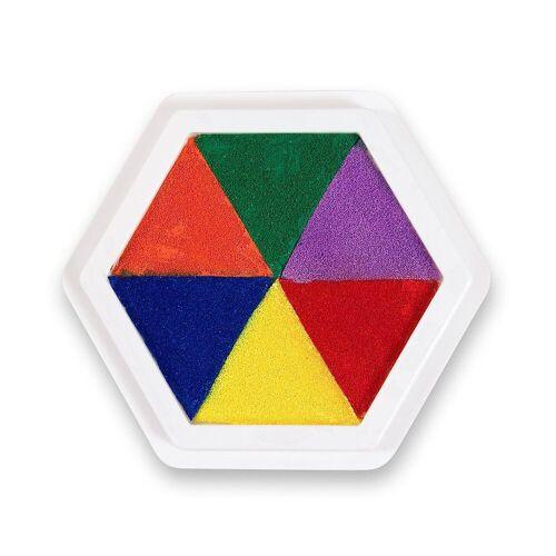 EDUPLAY Stempel »Riesen-Stempelkissen Multicolor 6-farbig«