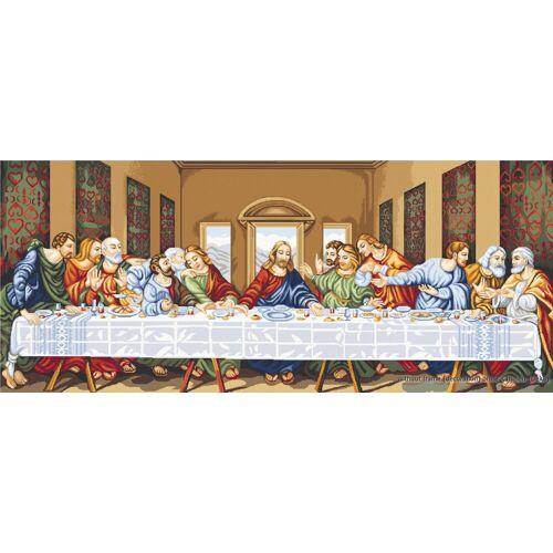 """Luca-S Kreativset »Kreuzstich Set """"Das letzte Abendmahl"""",«"""