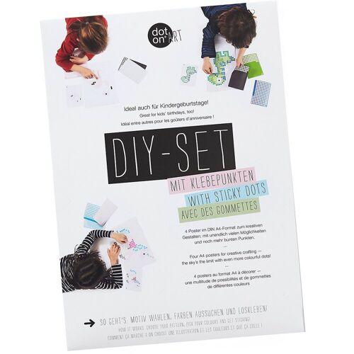 Dot On Malvorlage »art - DIY-Bastelset für Kindergeburtstage«