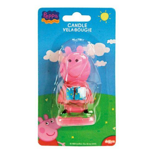 deKora Formkerze »Kuchenkerze Peppa Pig 3D«, rosa