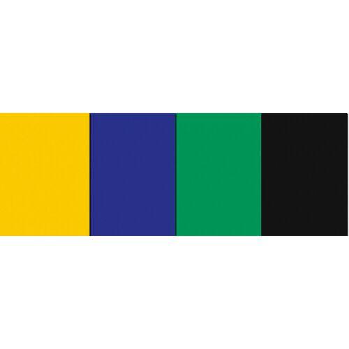 URSUS Dekorationsfolie »Fensterfolie 23X33cm, 8 Blatt 4 Farben, sortiert«