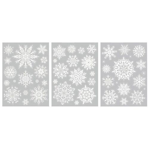 VBS Fenstersticker »Kristalle«, , 48 Teile