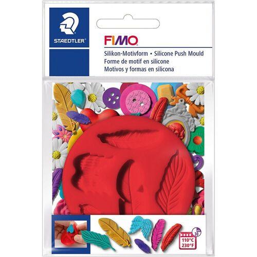 FIMO Knete »Silikon Motivform Federn«
