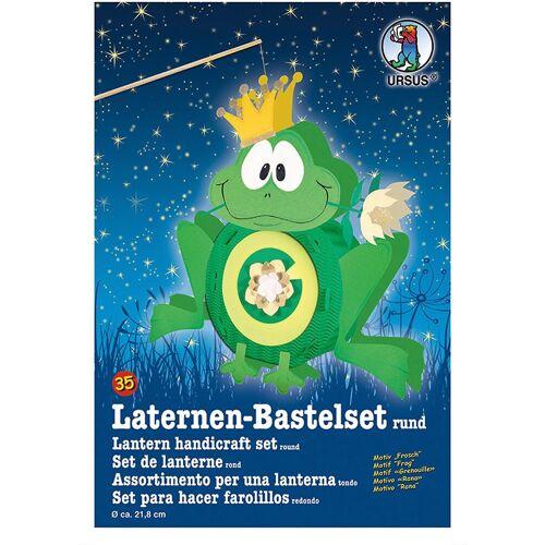 URSUS Laterne »Laternen Bastelset Frosch ca. 41 x 38cm«