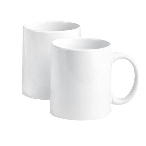 VBS Tasse, Porzellan, Porzellan, 2 Stück